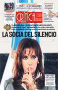 Today's cover of La Critica